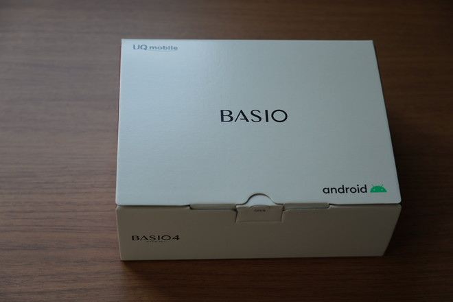 UQモバイルBASIO4